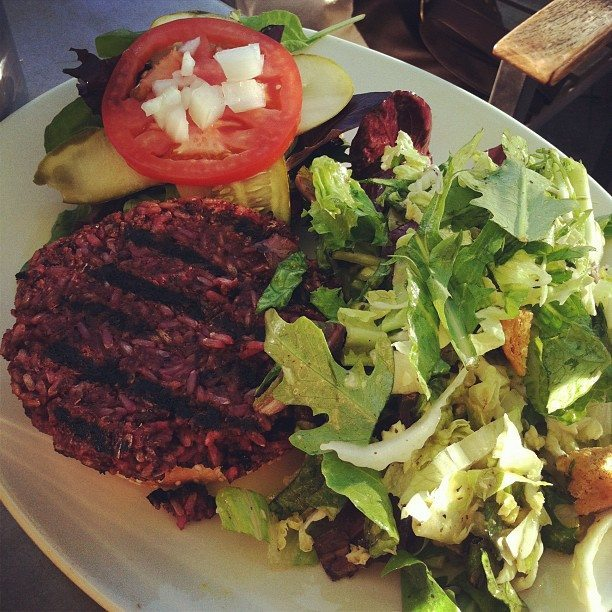 northstar cafe veggie burger Recipe