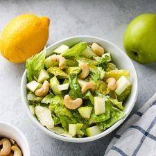 Apple Cashew Salad