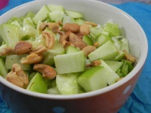 Apple Cashew Salad