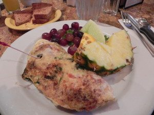 Family Fun + My First Omelet