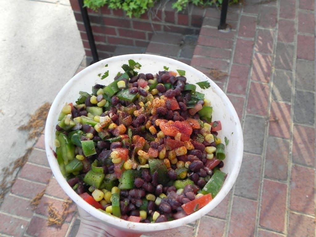 Vegan & Gluten Free Black Bean Salad