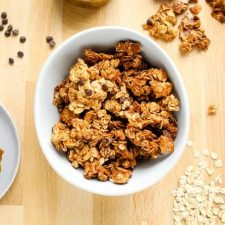 samoa cookie granola