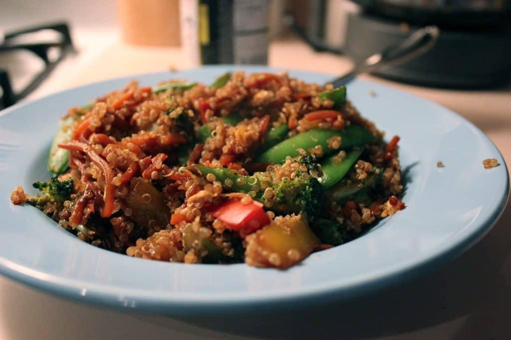 Veggie Quinoa Stir Fry