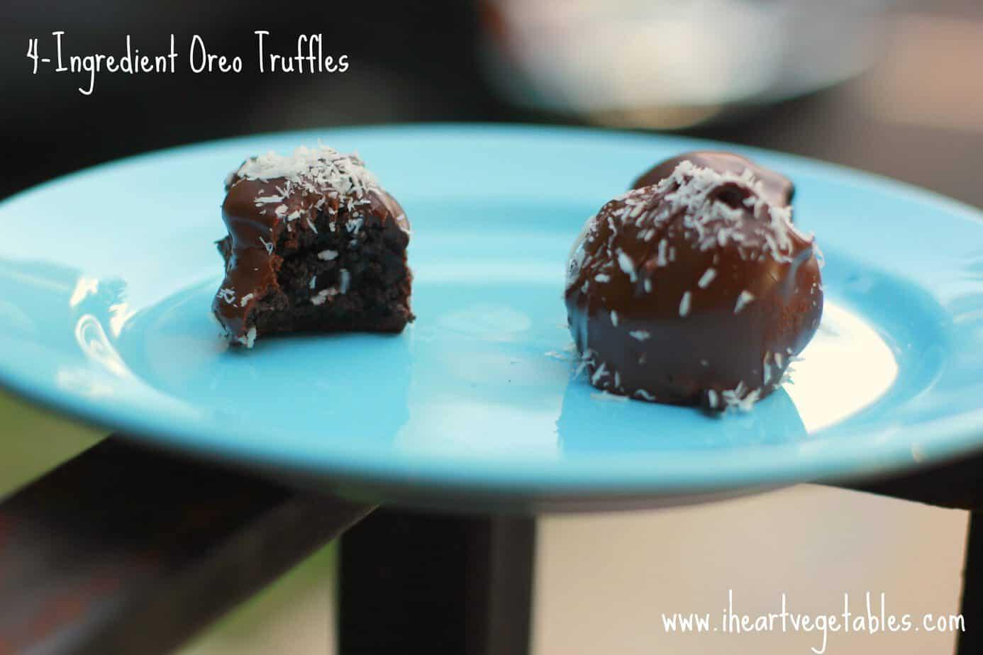 Easy Oreo Truffles - I Heart Vegetables