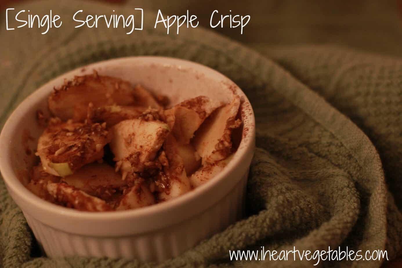Single Serving Apple Crisp