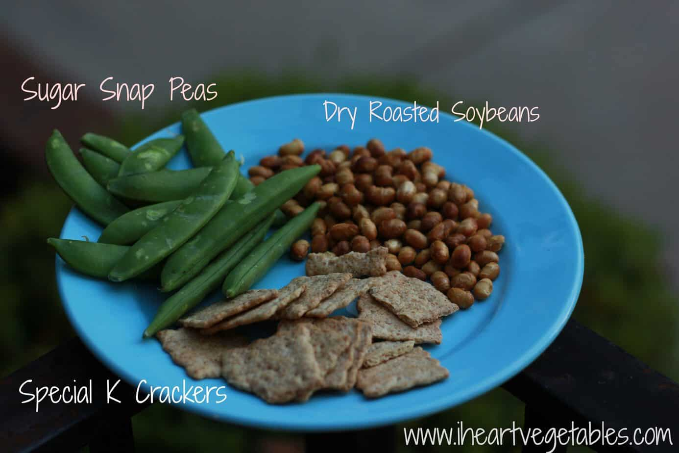 Peas Crackers and Soybeans