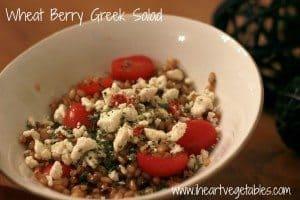 Wheat Berry Greek Salad