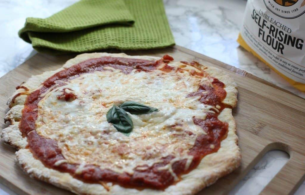 2 ingredient pizza crust recipe