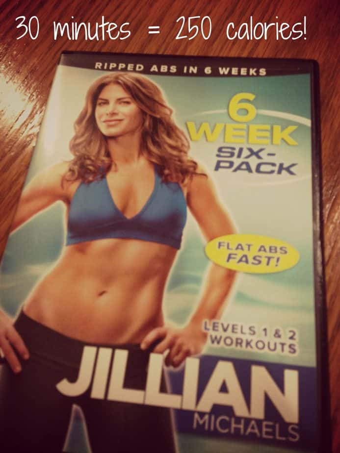 six week six pack jillian michaels