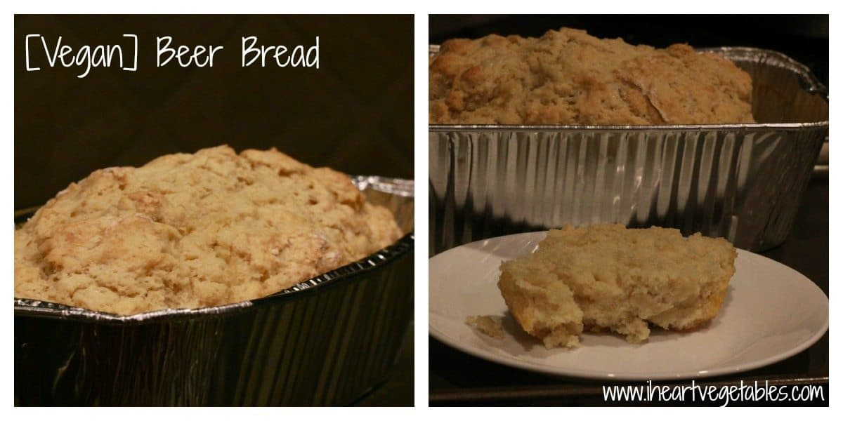 vegan beer bread