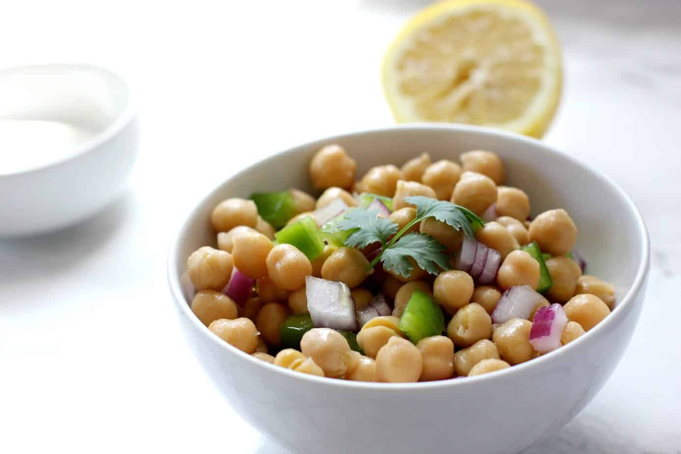 Smoky Chickpea And Farro Soup · Simple Chickpea Salad