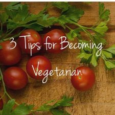 How to Become a Vegetarian