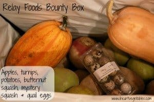 Relay Foods Bounty Box Review