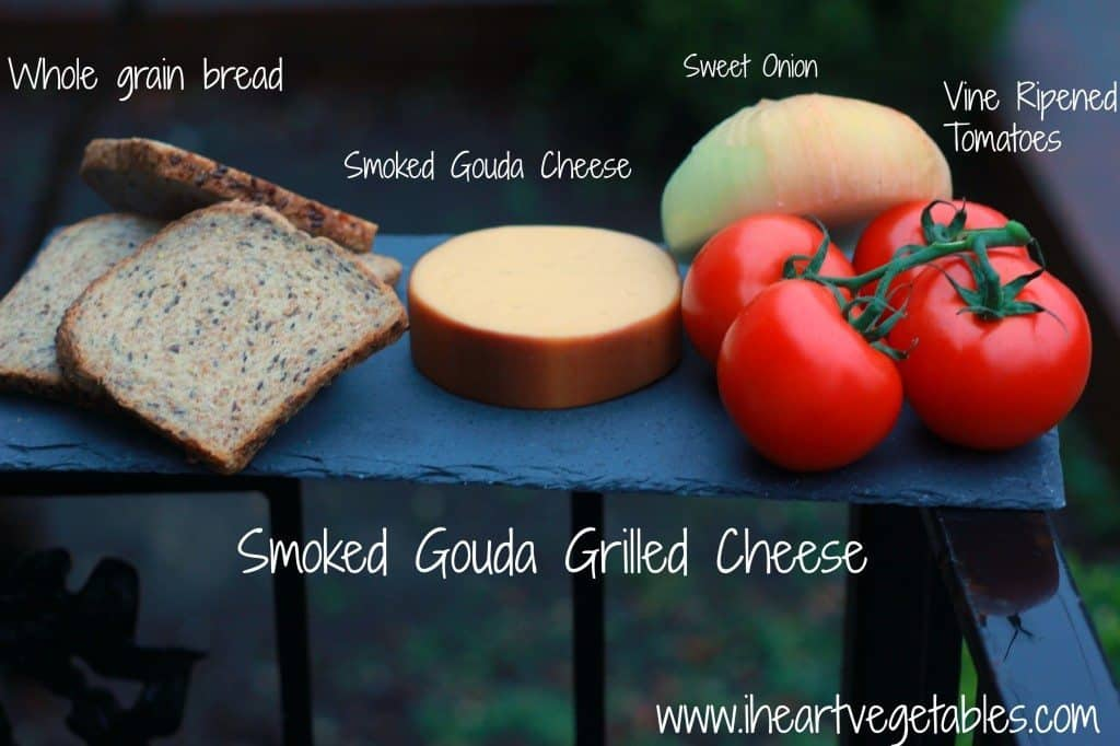 smoked gouda grilled cheese