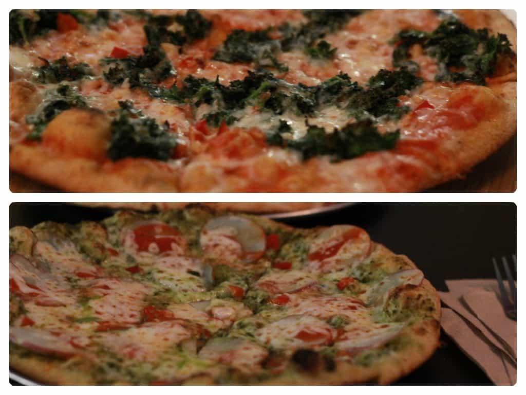fresca pizza kale