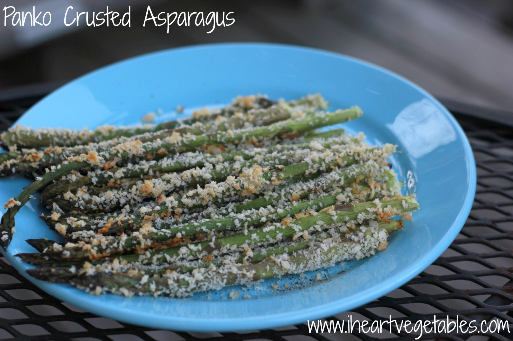 panko crusted asparagus