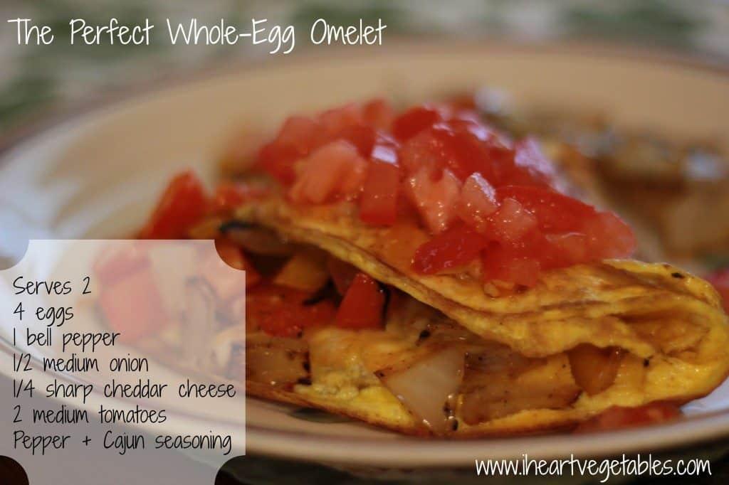 whole egg omelet