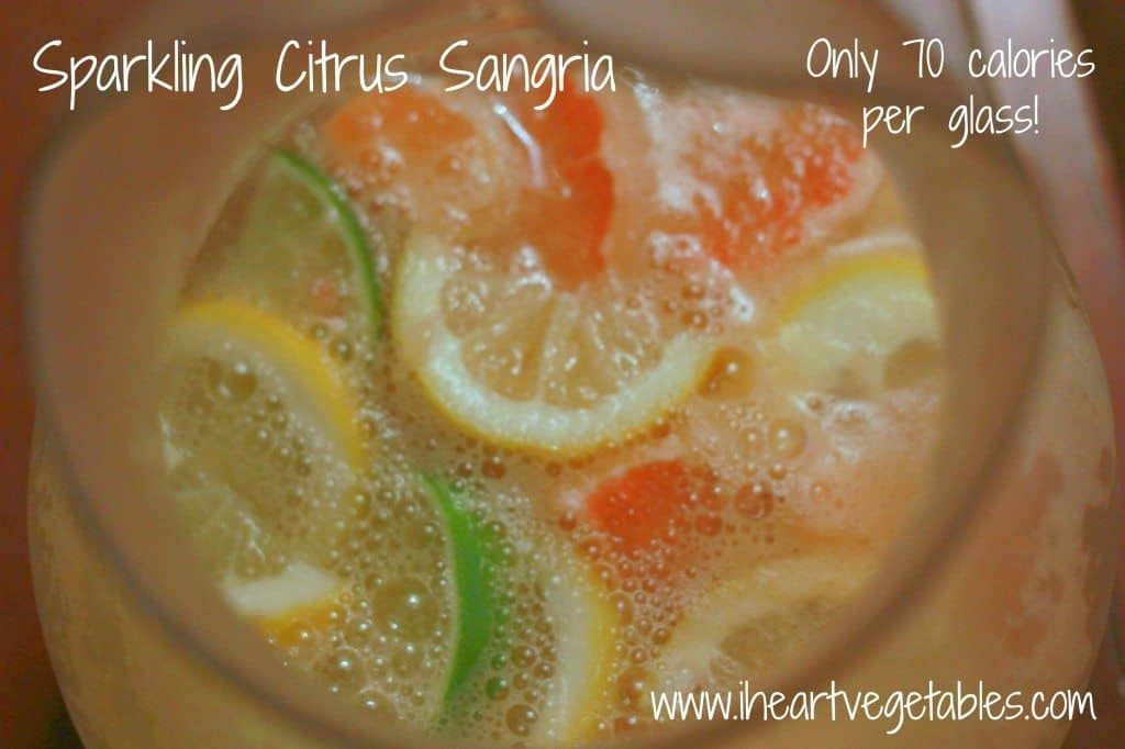 Sparkling Citrus Sangria from I Heart Vegetables