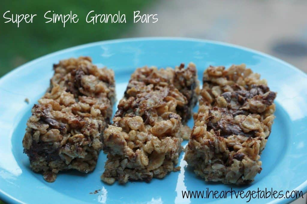 Super Simple Granola Bars from I Heart Vegetables