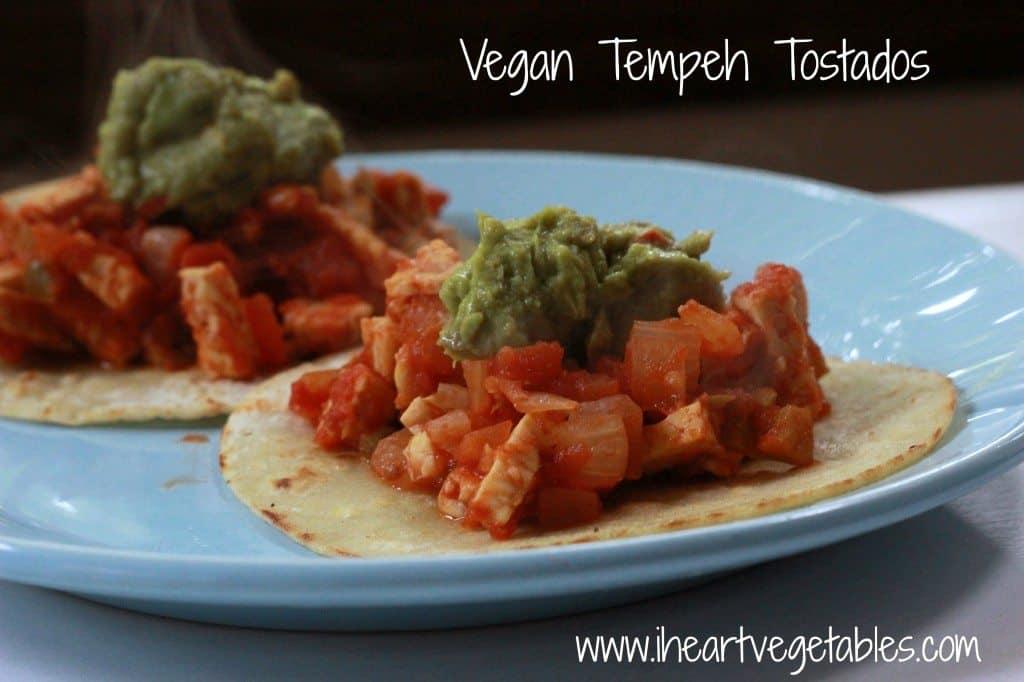 Vegan Tempeh Tostadas