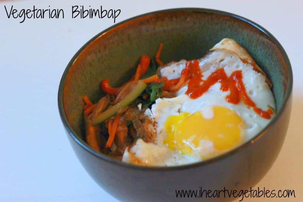 Vegetarian Bibimbap & Sparkling Sangria Recipe