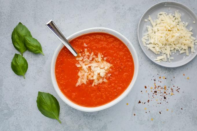 parmesan tomato soup