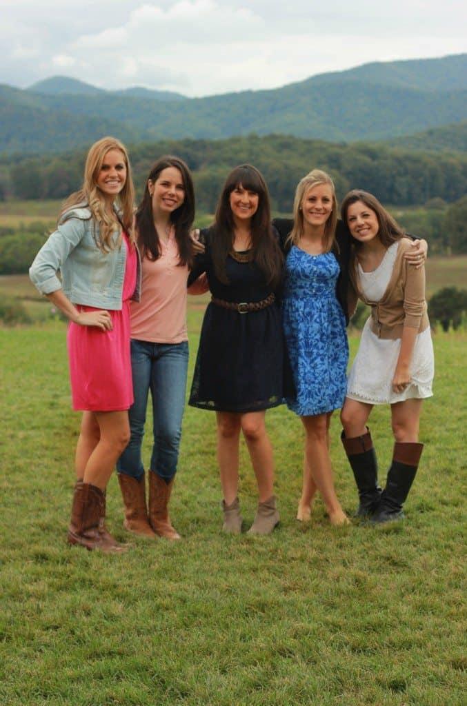 Girls at the Vineyard 2