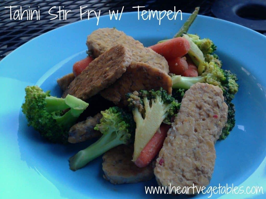 Tahini Stir Fry