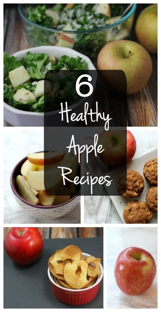 Looking for healthy fall recipes featuring apples? Look no further! Here are 6 easy apple recipes!