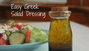 Easy Greek Salad Dressing