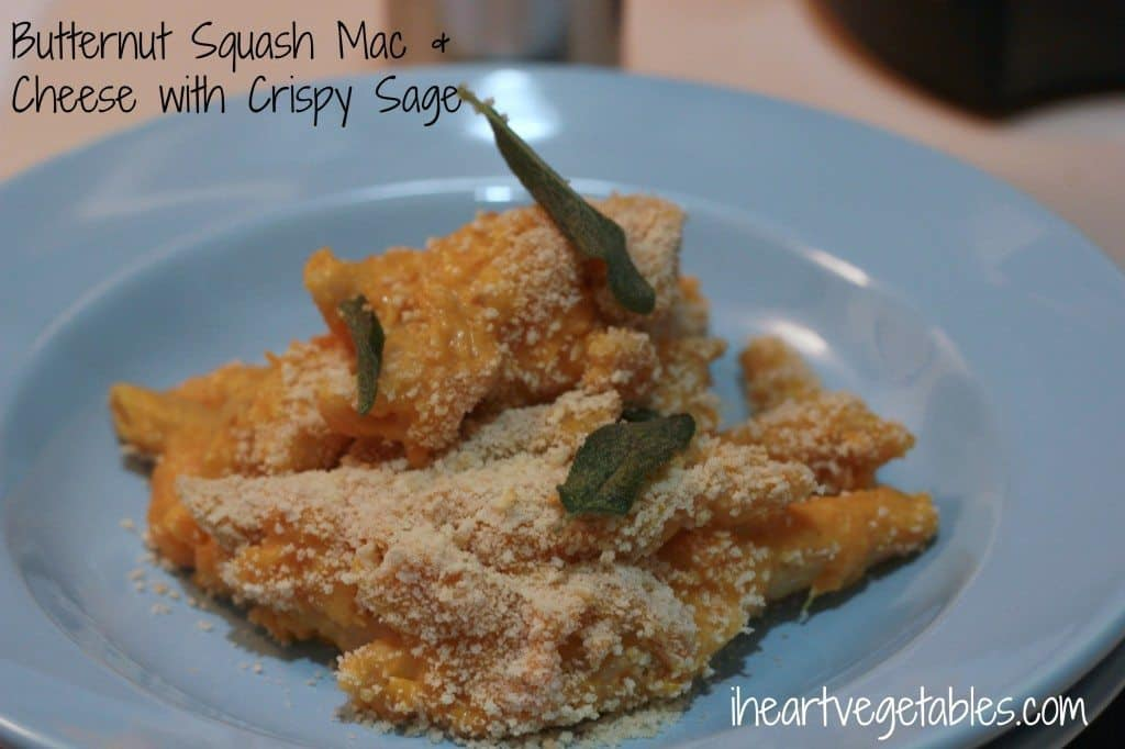 Butternut Squash with crispy sage