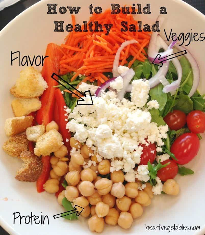 example healthy salad