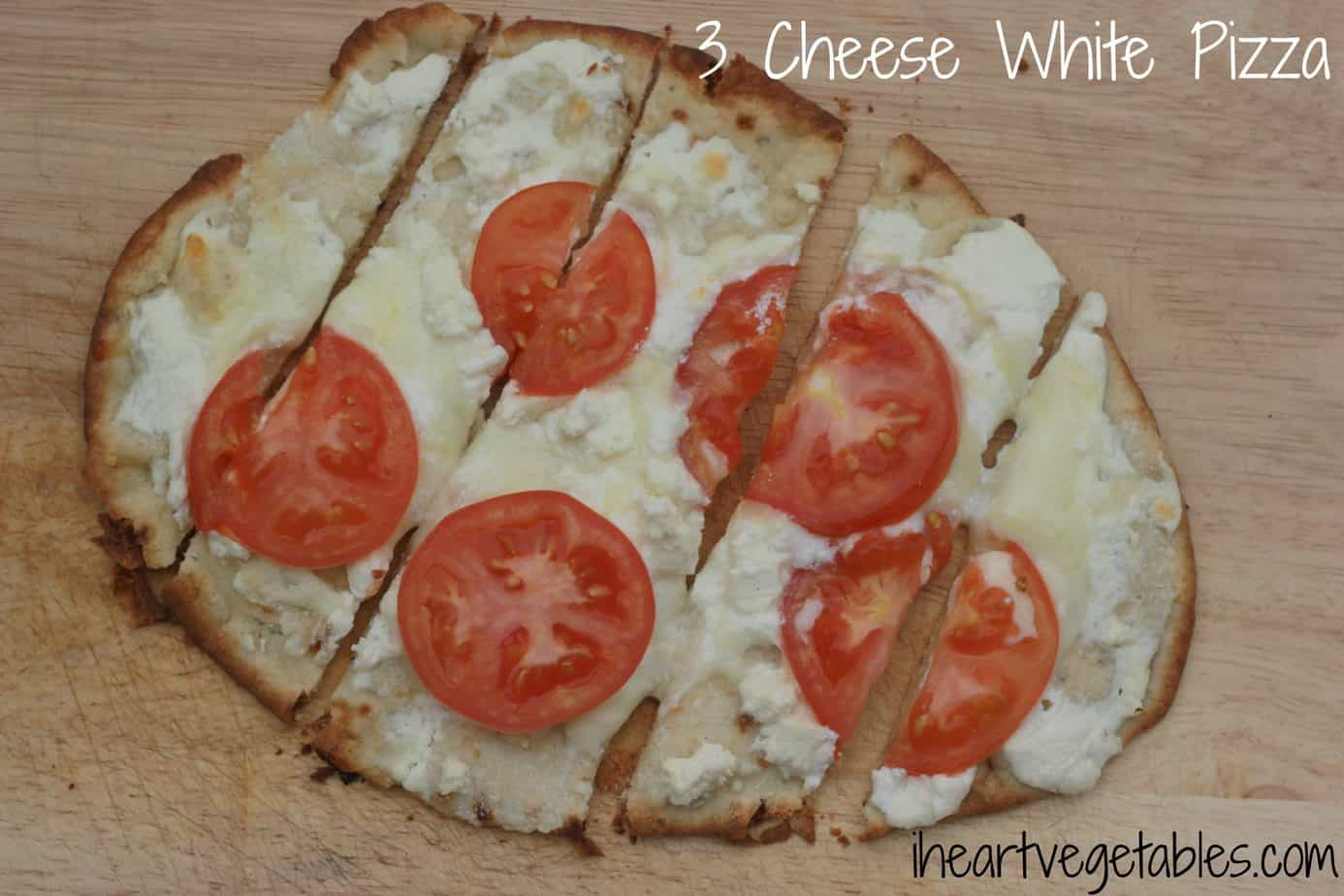 Frugal Friday- 3 Cheese White Pizza