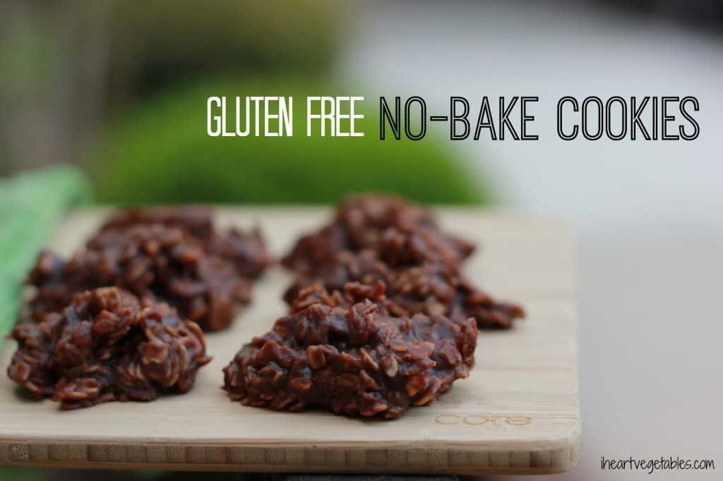 gluten free no bake cookies