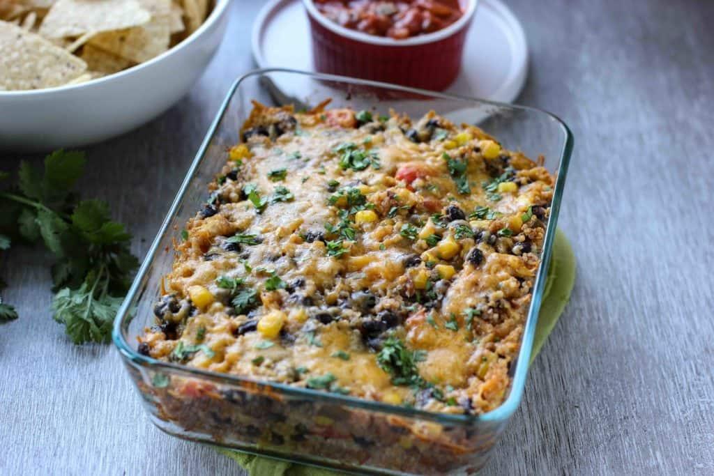quinoa baked