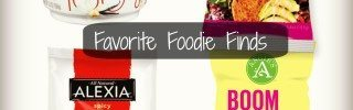all four foodie products