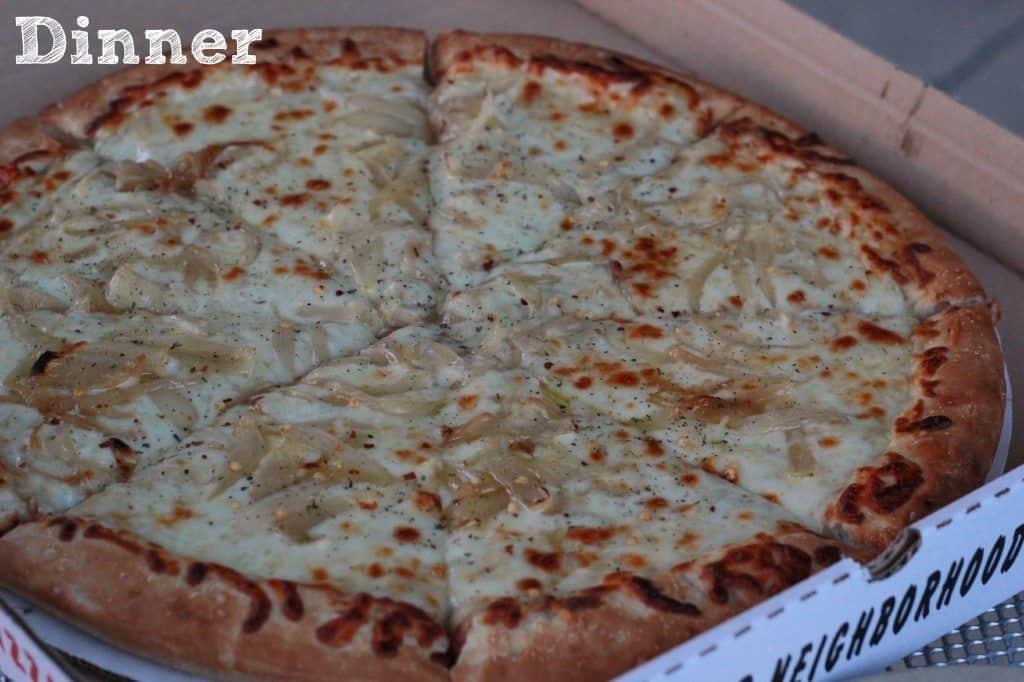 pizza at dunes deli