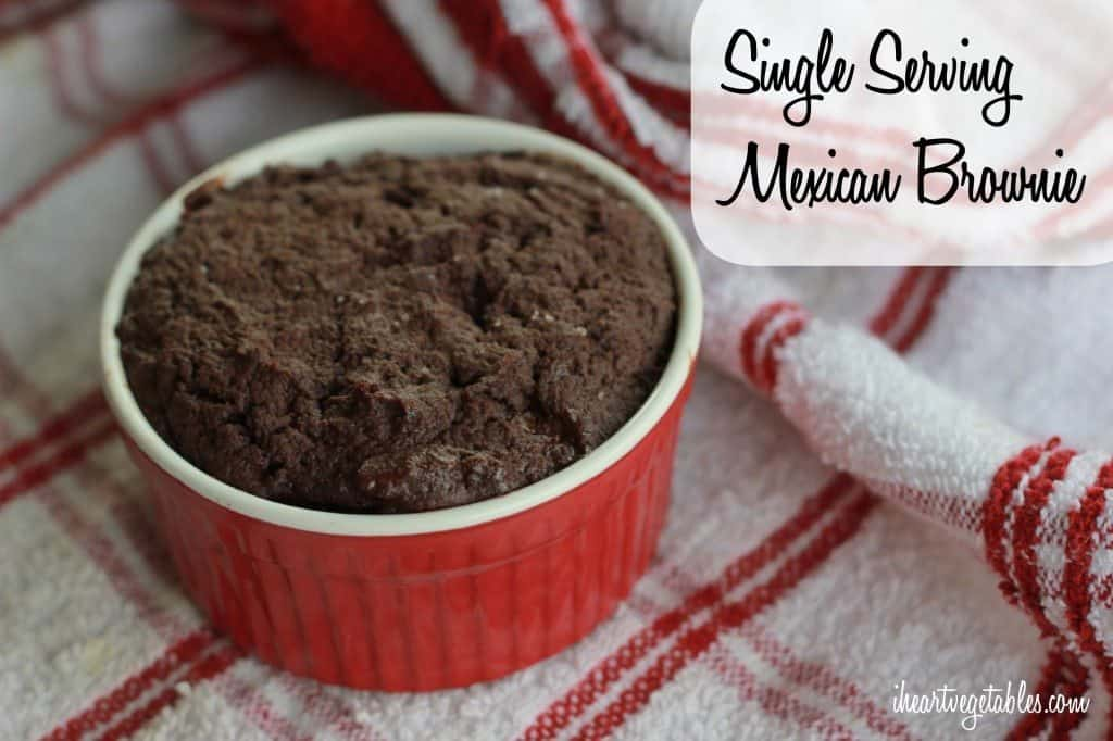 Single Serving Mexican Brownie
