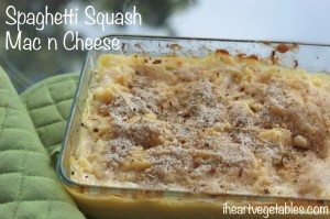 spaghetti squash mac n cheese