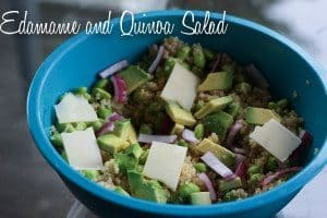 Edamame + Quinoa Salad