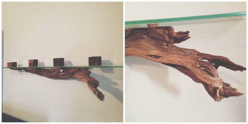 Op Shop driftwood shelf