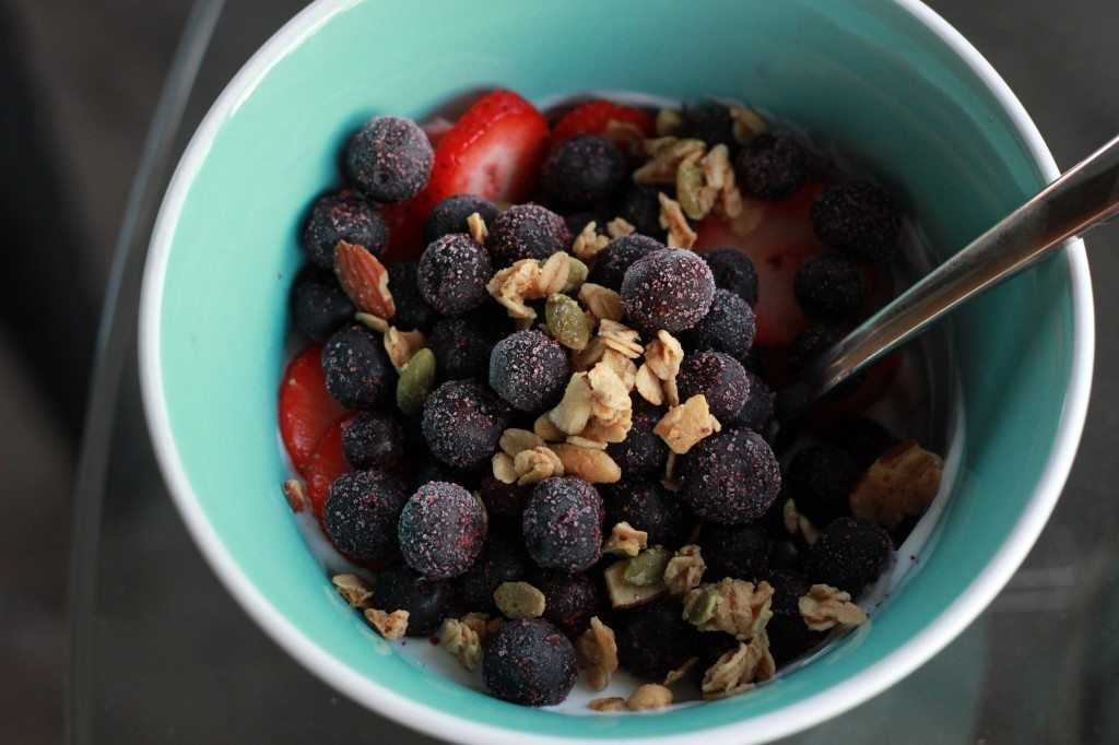 vegetarian breakfast with protein