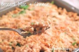 Frugal Fridays- Broccoli Macaroni and Cheese
