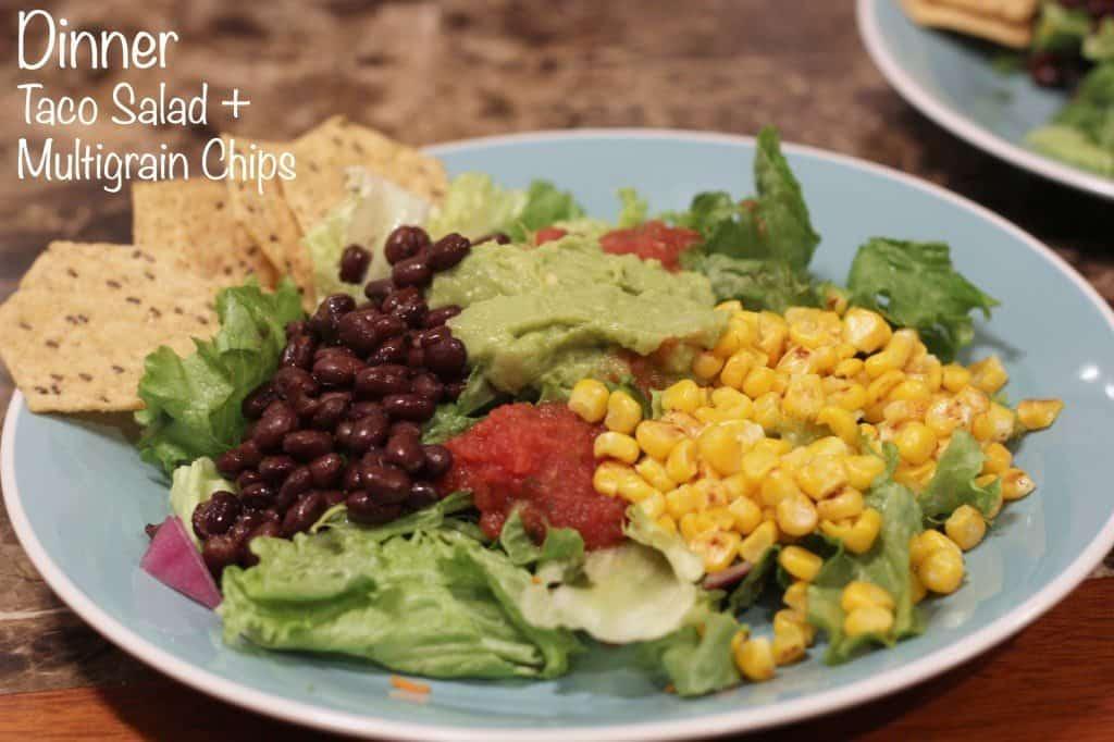 dinner taco salad