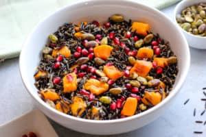 Wild Rice & Butternut Squash