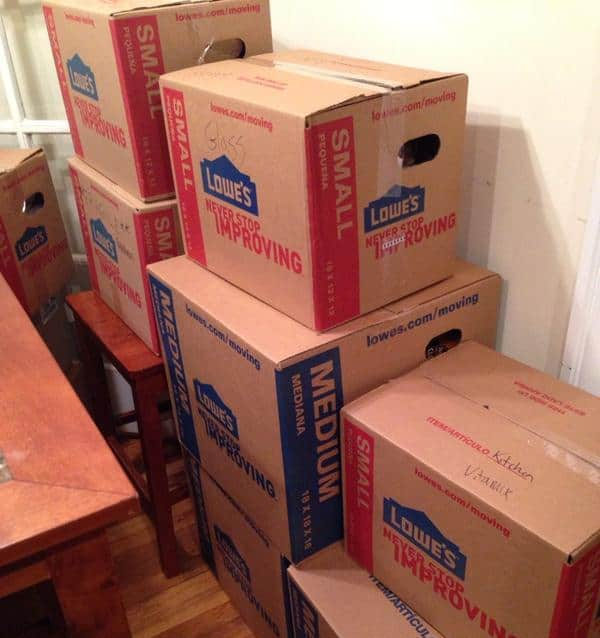 lowes boxes