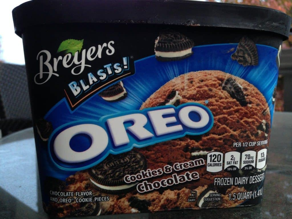 Breyers Blast Oreo Ice Cream