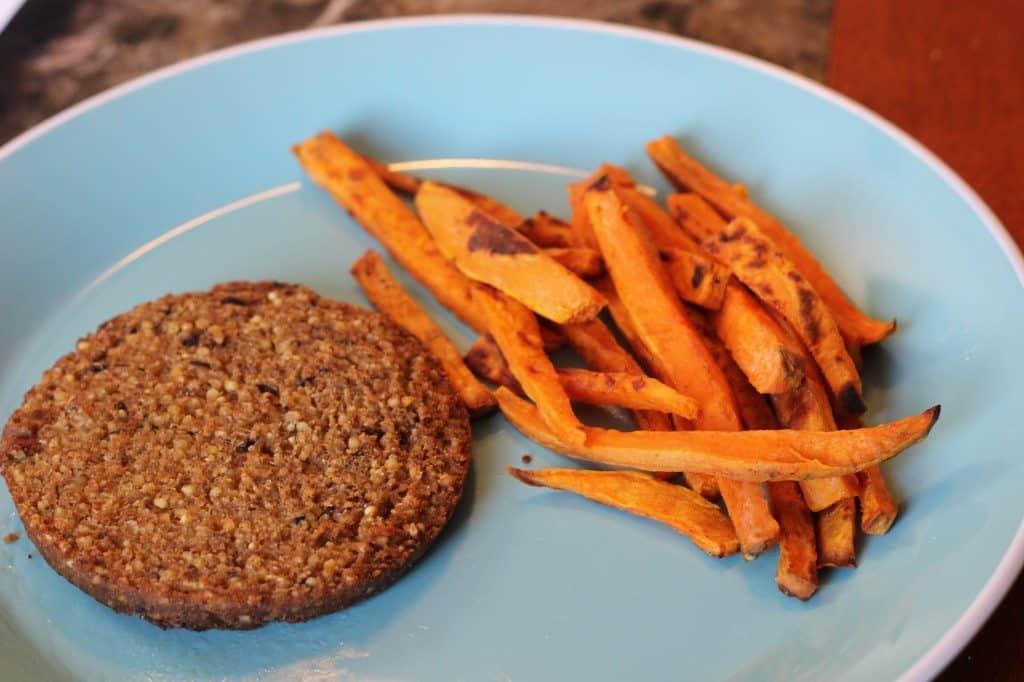veggie burger vegan nut free