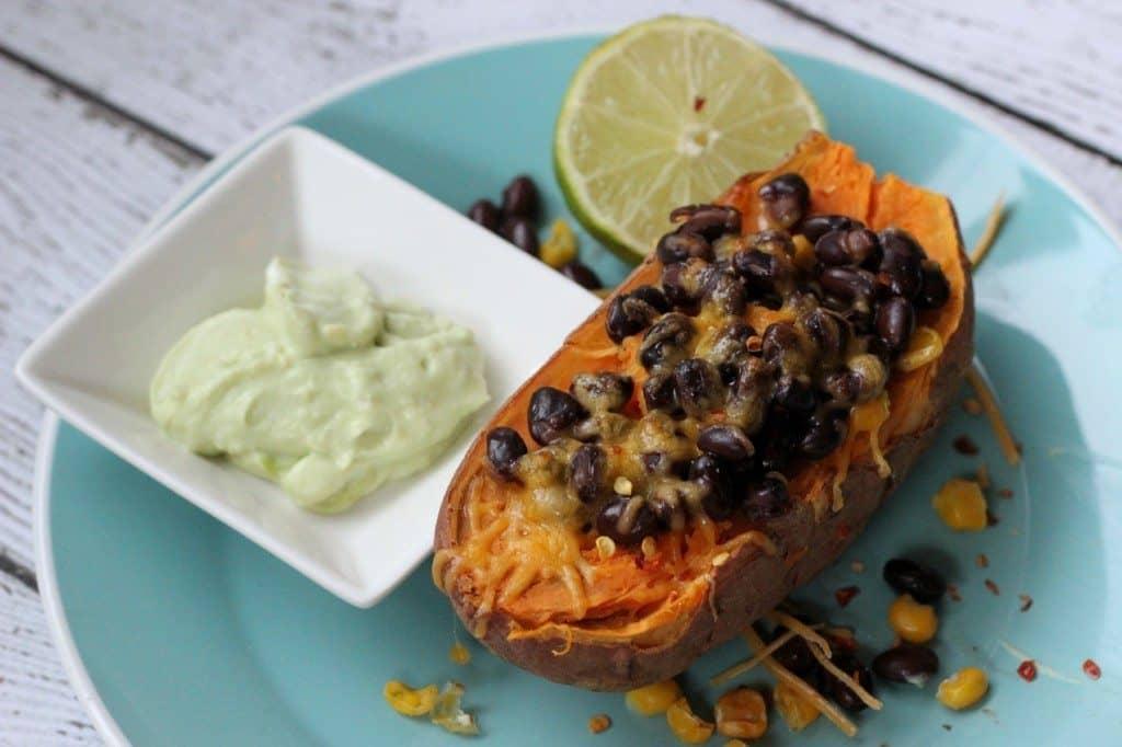 southwest sweet potatoes baked