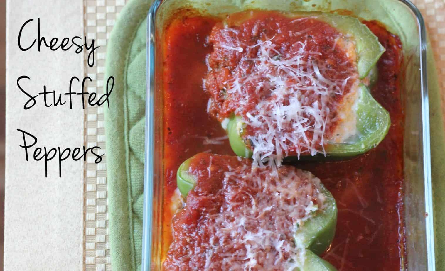 Ricotta Stuffed Peppers [Gluten Free]